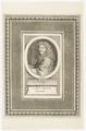 Bildnis des I. Bapt. Poquelin Moliere, 1651/1701 (Quelle: Digitaler Portraitindex)