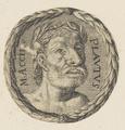 Bildnis des M. Accius Plautus, 1651/1700 (Quelle: Digitaler Portraitindex)