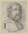 Bildnis des Evripides, Gessner, Salomon-1750/1788 (Quelle: Digitaler Portraitindex)