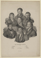 Gruppenbildnis mit Hinrich Lichtenstein, Christian Samuel Weiss, Paul Erman (Das Gelehrte Berlin II.), Loeillot de Mars - 1834/1866 (Quelle: Digitaler Portraitindex)