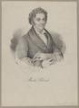 Bildnis des Moritz Retzsch, Kneisel, August - 1830/1835 (Quelle: Digitaler Portraitindex)