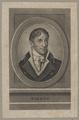 Bildnis des Tiedge, unbekannter K nstler - um 1800 (Quelle: Digitaler Portraitindex)