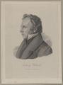 Bildnis des Ludwig Uhland, C. Schuler (ungesichert)-1821/1900 (Quelle: Digitaler Portraitindex)