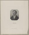 Bildnis des Uhland, Karl Eduard Weber-1818/1832 (Quelle: Digitaler Portraitindex)