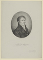 Bildnis des Niklas D'Alayrac, Heinrich E. Winter - 1816 (Quelle: Digitaler Portraitindex)