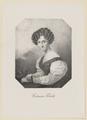 Bildnis der Costanza Tibaldi, unbekannter K nstler - 1829/1900 (Quelle: Digitaler Portraitindex)