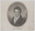 Bildnis Ludwig van Beethoven, Riedel, Karl Traugott - 1815 (Quelle: Digitaler Portraitindex)