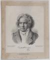 Bildnis Ludwig van Beethoven, Fischer, C. - 1843 (Quelle: Digitaler Portraitindex)
