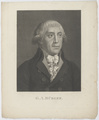 Bildnis des G. A. B�rger, Johann Friedrich Baumann - 1791/1844 (Quelle: Digitaler Portraitindex)