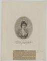 Bildnis der Antonie Adamberger, Johann Mansfeld - nach 1807 (Quelle: Digitaler Portraitindex)
