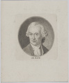 Bildnis des Friedemann Bach, unbekannter K nstler - 1751/1800 (Quelle: Digitaler Portraitindex)