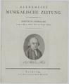 Bildnis des Carl Phil. Em. Bach, Johann Friedrich Schr ter - 1801 (Quelle: Digitaler Portraitindex)
