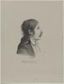 Bildnis des�Honor� de Balzac?, Andr  Dutertre - vor 1842 (Quelle: Digitaler Portraitindex)