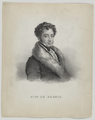 Bildnis des Giuseppe De Begnis, 1830/1866 (Quelle: Digitaler Portraitindex)