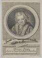 Bildnis des Fran�ois Benda, Ickert, ? - 1783 (Quelle: Digitaler Portraitindex)