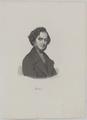 Bildnis des Hector Berlioz, H ssener, Auguste - um 1840 (Quelle: Digitaler Portraitindex)