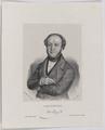 Bildnis des Jeremias Gotthelf, Joh. Barth. Th ler (ungesichert) - 1828/1863 (Quelle: Digitaler Portraitindex)