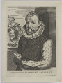 Bildnis des Abrahamus Blommart, Boulonois, Esme de-um 1680 (Quelle: Digitaler Portraitindex)