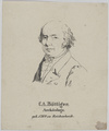 Bildnis des C. A. B�ttiger, unbekannter K nstler - um 1810 (Quelle: Digitaler Portraitindex)