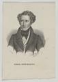 Bildnis des Emil Devrient, Kneisel, August-1832/1835 (Quelle: Digitaler Portraitindex)