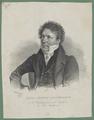 Bildnis des Carl Ludwig Costenoble, Josef Kriehuber - 1829 (Quelle: Digitaler Portraitindex)