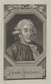 Bildnis des Carl Goldoni, Christian Gottlob Liebe - 1788 (Quelle: Digitaler Portraitindex)