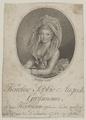 Bildnis der Karoline Sophie Auguste Grossmann, Carl G pffert - 1777/1788 (Quelle: Digitaler Portraitindex)