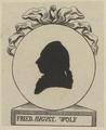 Bildnis des Fried. Avgvst Wolf, 1783/1784 (Quelle: Digitaler Portraitindex)