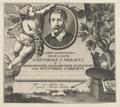 Bildnis des Annibale Carracci, Georg Martin Prei ler - 1738 (Quelle: Digitaler Portraitindex)