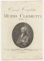 Bildnis des Muzio Clementi, unbekannter K nstler - um 1805 (Quelle: Digitaler Portraitindex)