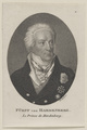 Bildnis des Karl August Fürst von Hardenberg, Johann Friedrich Bolt-1811/1836 (Quelle: Digitaler Portraitindex)