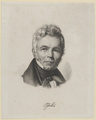Bildnis des Karl Friedrich Schinkel, 1836/1840 (Quelle: Digitaler Portraitindex)