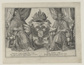 Doppelbildnis des Kaisers Maximilian II. und des Rudolph II., um 1575 (Quelle: Digitaler Portraitindex)
