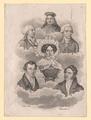 Gruppenbild Karoline Pichler und fünf Männer,  (Quelle: Digitaler Portraitindex)