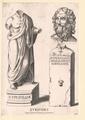 Euripides,  (Quelle: Digitaler Portraitindex)