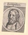 Euripides, 1601/1750 (Quelle: Digitaler Portraitindex)