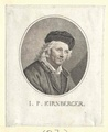 Kirnberger, Johann Philipp,  (Quelle: Digitaler Portraitindex)