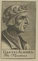 Bildnis des Dantes Aligerius, unbekannter K nstler - 1688 (Quelle: Digitaler Portraitindex)