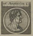 Bildnis des Aristoteles, 1651/1750 (Quelle: Digitaler Portraitindex)
