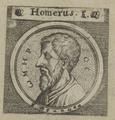 Bildnis des Homer, 1642 (Quelle: Digitaler Portraitindex)