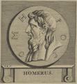 Bildnis des Homer, Monogrammist P. B. - 1651/1750 (Quelle: Digitaler Portraitindex)