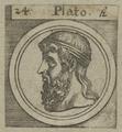 Bildnis von Plato, 1601/1750 (Quelle: Digitaler Portraitindex)