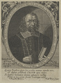 Bildnis des Abraham Calovivs, Frans Brun-1655 (Quelle: Digitaler Portraitindex)