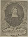 Bildnis des Christianus Scriverius, Jakob von Sandrart-1645/1708 (Quelle: Digitaler Portraitindex)