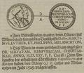 Bildnis von Martin Luther und Philipp Melanchton, 1701/1750 (Quelle: Digitaler Portraitindex)