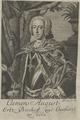 Bildnis des Clemens August, Sysang, Johann Christoph - um 1740 (Quelle: Digitaler Portraitindex)