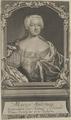 Bildnis von Maria Antonia, Kurf�rstin von Sachsen, Sysang, Johann Christoph - vor 1757 (Quelle: Digitaler Portraitindex)
