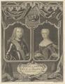 Bildnis von Carolus III. (und seiner Frau Maria Amalie), Sysang, Johann Christoph - 1738 (Quelle: Digitaler Portraitindex)