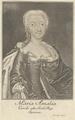 Bildnis von Maria Amalia, K�nigin von Spanien, Bernigeroth, Martin (ungesichert) - 1724/1733 (Quelle: Digitaler Portraitindex)