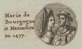 Bildnis von Marie de Bourgogne und Kaiser Maximilien, 1601/1750 (Quelle: Digitaler Portraitindex)